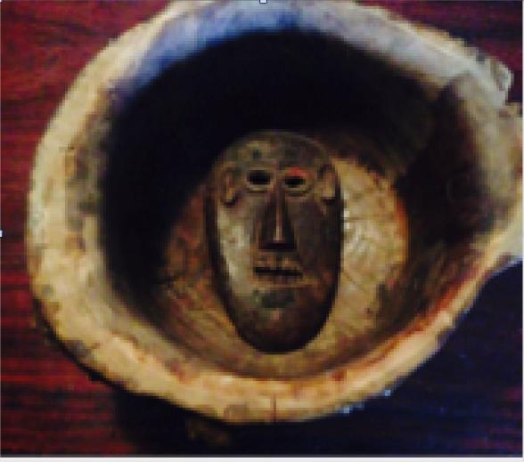 African mask (circa 1900)